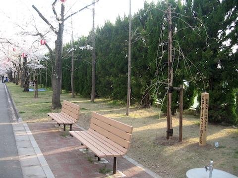 山梨ヌーヴォーまつり30周年記念植樹@小瀬